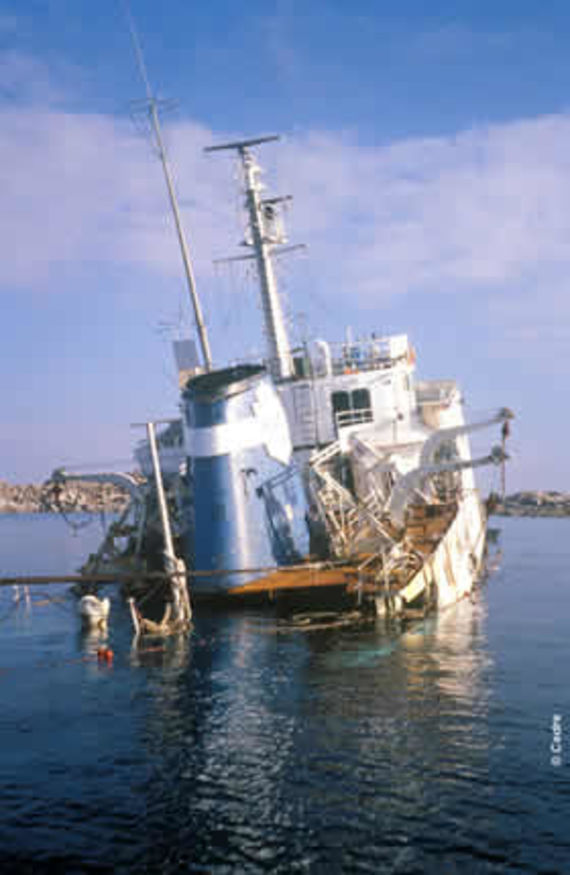 The wreck of Fenes