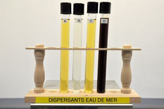 Seawater dispersant samples
