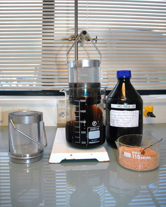 Sorption test for universal sorbents