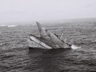 Amoco Cadiz sinking on 16 March 1978