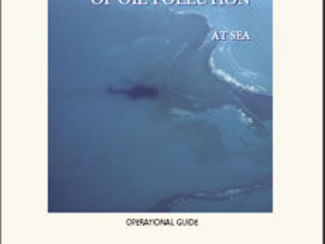 Aerial observation of oil pollution at sea