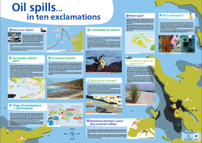 oil spill 10 exclamations
