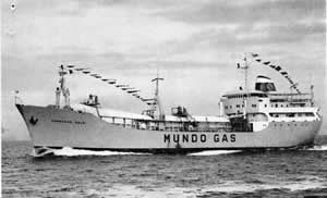 The gas carrier Mundogas Oslo