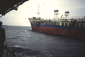 The chemical tanker N°1 Chung Mu
