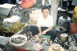 Shell and fish market