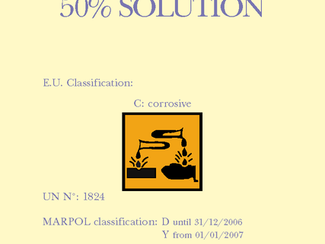 Sodium Hydroxide 50% Solution