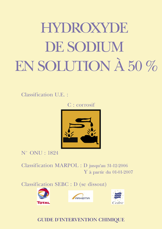 Hydroxyde de sodium en solution à 50%
