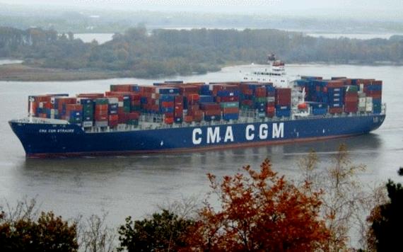 The CMA CGM Strauss