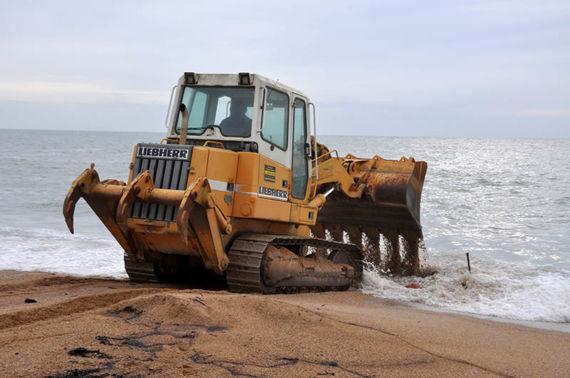 Surfwashing test on 20 December 2011