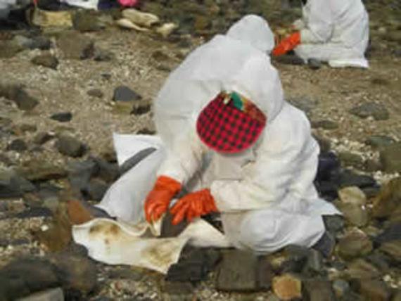 Nettoyage manuel des galets