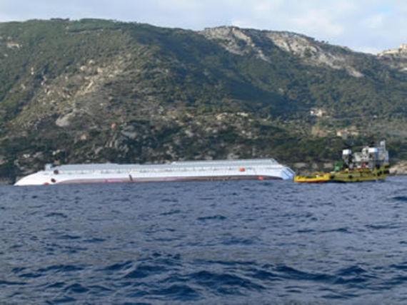 Wreck of the Costa Concordia. © Ministero dell'ambiente