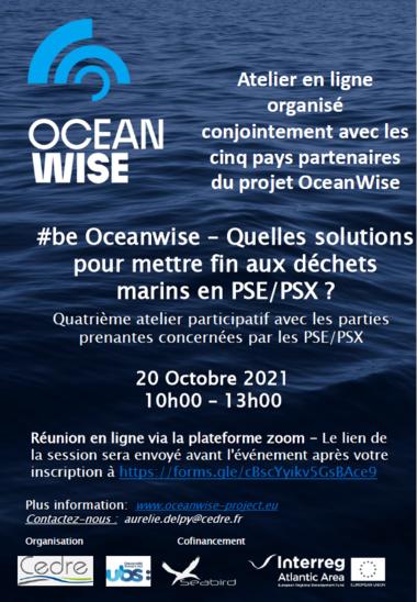 Affiche 4ème Atelier OceanWise