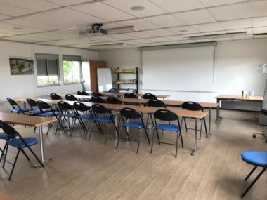 Training room for practical sessions