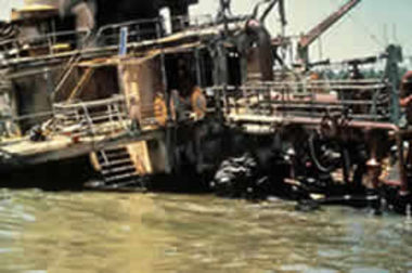 The wreck of the Cason